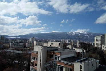 Sunny one-bedroom apartment with view to Vitosha mountain, Iztok qt., Sofia