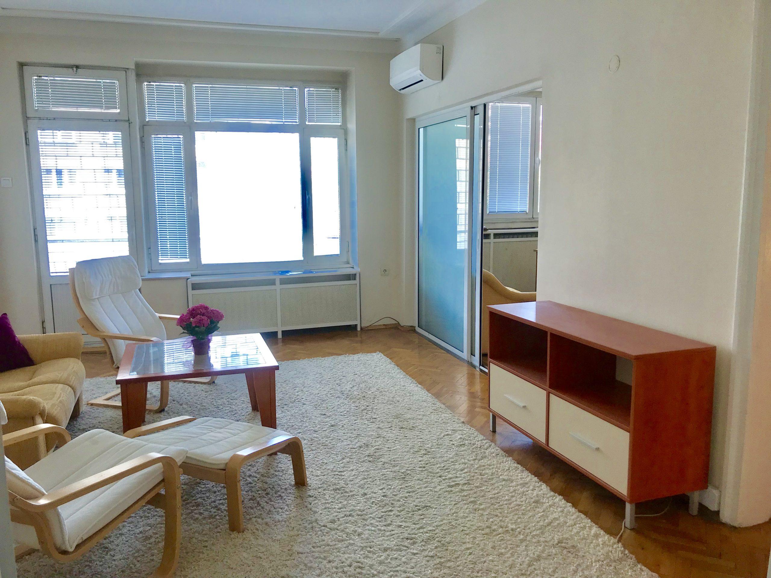 Тристаен апартамент под наем до Парк Заимов, гр. София